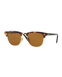 Clubmaster Havana Sunglasses, Brown