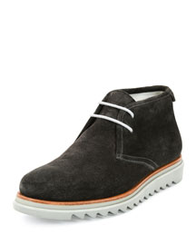 Lagos Suede Chukka Boot on Archival Sole, Gray