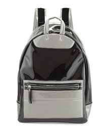 Transparent Ghost Men's Backpack, Clear