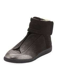 Future Degrade-Print High-Top Sneaker, Black