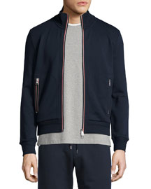 Full-Zip Track Jacket, Navy