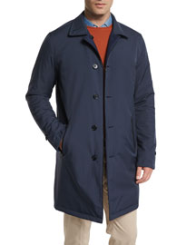 Rainey Reversible Wind Storm System Jacket, Blue Navy/Blue