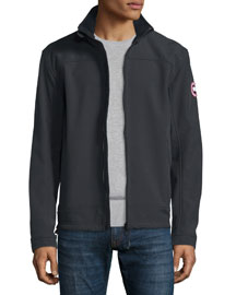 Bracebridge Zip-Up Jacket, Black