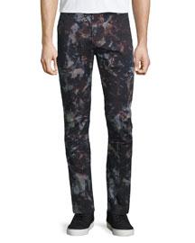 Hydrox Tie-Dye Printed Stretch Pants, Spero Sprint