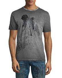 Short-Sleeve Graphic T-Shirt, Dark Gray