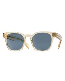 Byredo 50 Photochromic Sunglasses, Beige