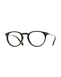 Lummis 47 Metal Fashion Glasses, Black