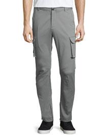 Slim-Stretch Cargo Pants, Sage
