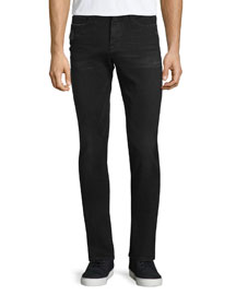 L'Homme Distressed Skinny-Leg Jeans, Chimney Rock