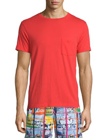 Alex II Unwashed Short-Sleeve T-Shirt, Rescue Red
