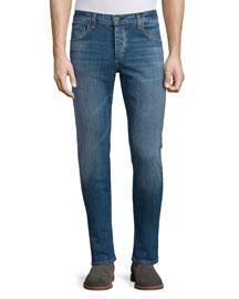 Lawson Low-Rise Slim Jeans, Denim