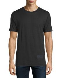 Short-Sleeve Jersey T-Shirt, Black