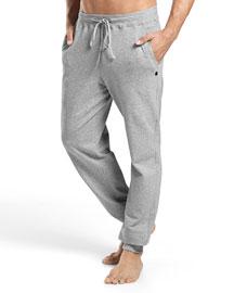 Luis Melange Lounge Pants, Gray