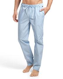 Night & Day Check Lounge Pants, Blue