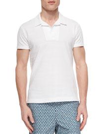 Felix Pique-Knit Polo Shirt