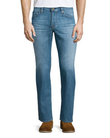Protege Straight-Leg Denim Jeans, Riverside