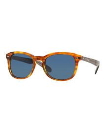 Plastic Round Sunglasses