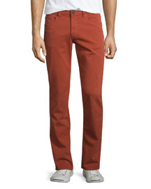 Tyler Slim-Fit Denim Jeans, Ember
