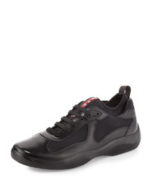 Punta Ala Leather Sneaker, Black