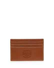 Slim Leather Card Case No. 20, Chestnut