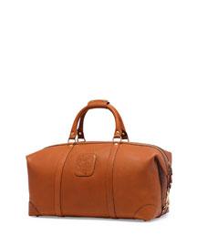 Cavalier III No. 98 Large Leather Duffel Bag, Chestnut