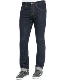 Demon 1-Year Pressed Rinse Jeans