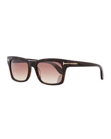 Frederick Acetate Rectangular Sunglasses