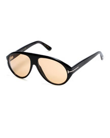 Tom N.8 Private Collection Sunglasses, Black