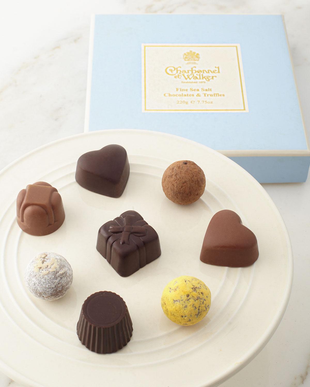 Charbonnel ET Walker Sea Salt Chocolate Selection, Blue