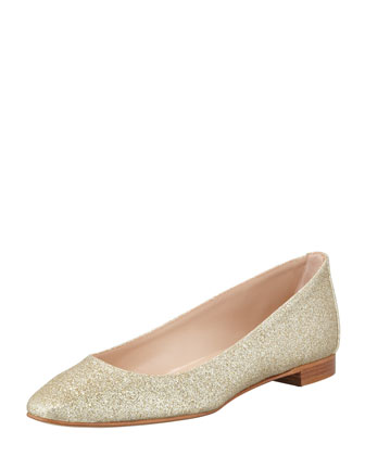 Lee Glitter Skimmer, Gold