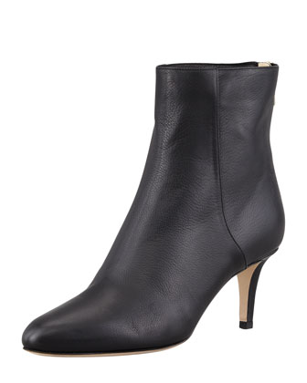Brody Leather Ankle Bootie, Black