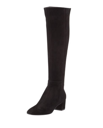 Suede Over-the-Knee Boot