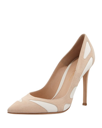 Point-Toe Cutout Combo Pump