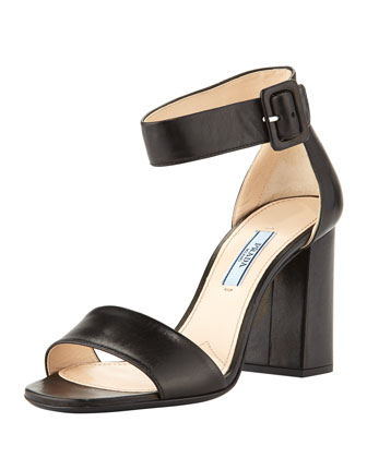 Chunky Ankle-Strap Sandal