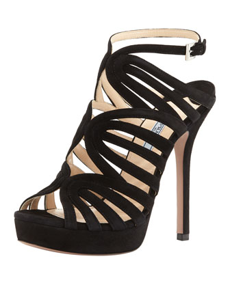 Strappy Looped Platform Sandal