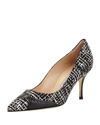 Izzio Geometric Snake-Trim Pump