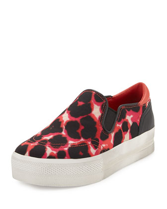 Jungle Bis Leopard-Print Skate Shoe
