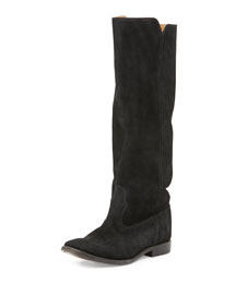 Cleave Hidden-Wedge Knee Boot