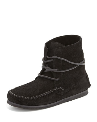 Flavie Suede Moccasin Boot