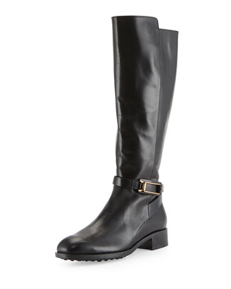 Leather Equestrian Riding Boot