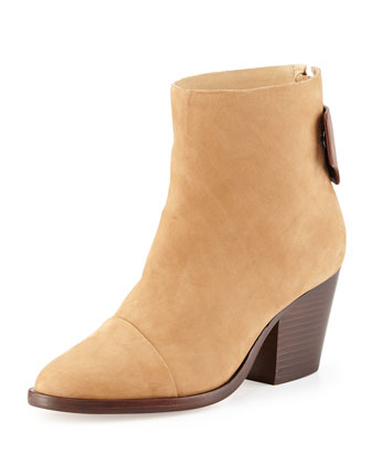 Ryland Nubuck Ankle Boot, Tan