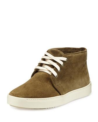Kent Suede Desert Boot, Olive