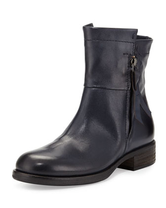 Novara Double-Zip Flat Boot