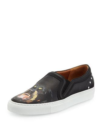 Rottweiler Leather Skate Shoe
