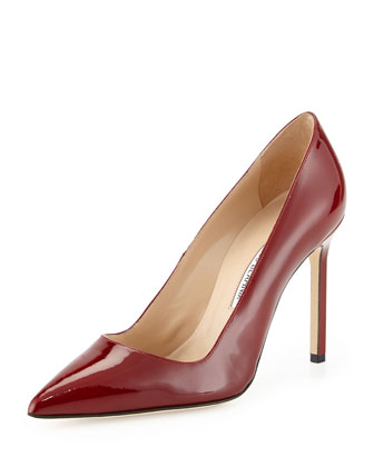 BB Patent Point-Toe Pump, Poppy