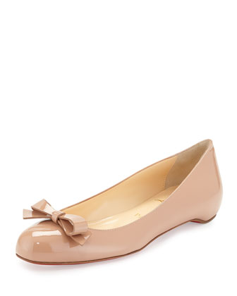 Simplenodo Red-Sole Bow Flat, Neutral
