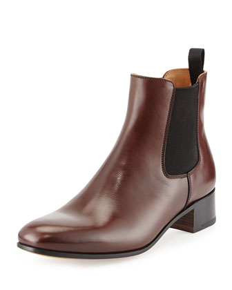 Leather Chelsea Boot, Brown