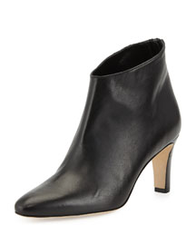 Macas Napa Leather Ankle Boot, Black