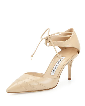 Reyatre d'Orsay Pump, Natural
