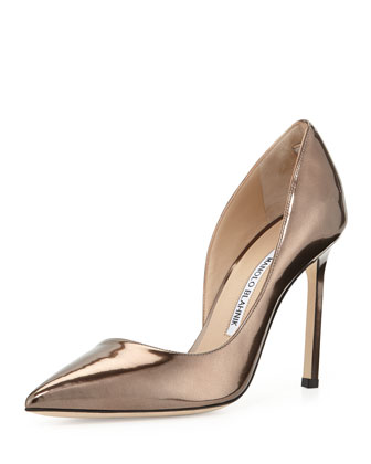 Stresty Patent Half-d'Orsay Pump, Bronze